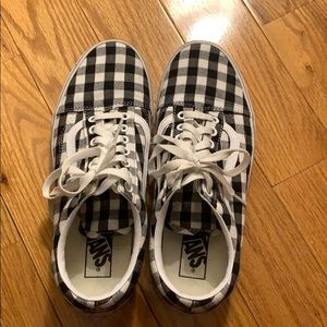 Checkers vans - only worn twice